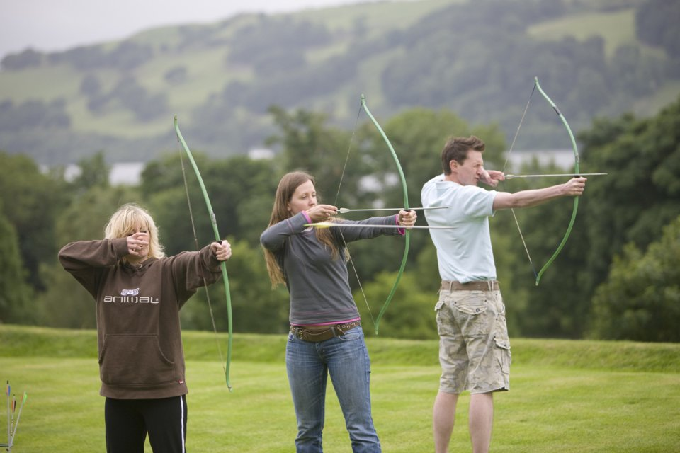 Archery with Bala Adventure & Watersports
