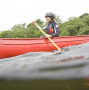 Canoeing with Bala Adventure & Watersports