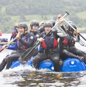 Raft Building with Bala Adventure & Watersports